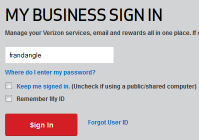 Verizon Login Plaintext Password Bug 01