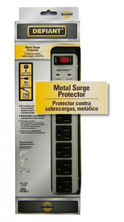 Metal Surge Protector (Or so it seems)